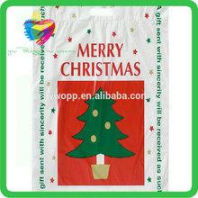 Yiwu China plastic pe christmas luxury shopping bag