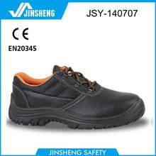 anti-slip steel toe cap mens' comfortable work shoes