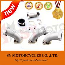 Aluminum adjustable dirt bike intake pipe