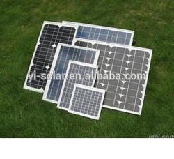 Solar panel polycrystalline Monocrystalline CEC IEC TUV Fire test panel
