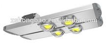 DLC 90W 100W 120W IP65 BridgeLux chips solar led street lamp waterproof led street lighting module