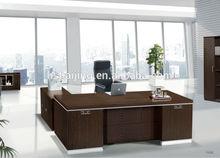 7 shape office desk