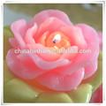 talladas a mano de flores de aroma velas perfumadas