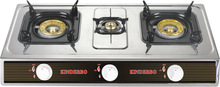 JK-401 Thick stainless steel blue flame gas stove