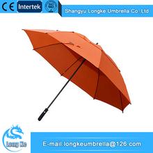 Wholesale High Efficiency Material Wind Breaker Golf Umbrellas
