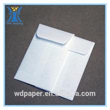 YIWU 2014 new arrived cheap blank custom white coin envelopes