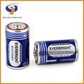 Tamaño r20 d en seco de la célula de la batería 1.5v seco de la célula de la batería um-1 las células de la batería