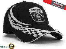 Produce racing cap racing embroidery design racing cap