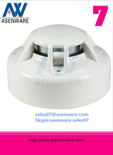 Smoke and Heat Detector for Conventional Fire Alarm System 2 Wire Bus System
