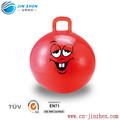 الوجه مبتسم لعب الكرة النطاط البلاستيك pvc كرات القفز للأطفال الصغار