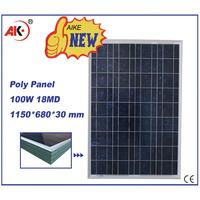 Cheap india 100 watt solar panel,solar panel price