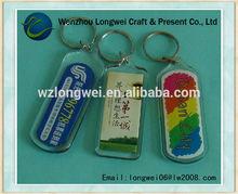 acrylic mini keychain photo albumr/owl keychain/reflective keychain/keychain