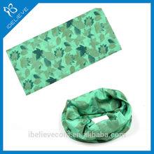 custom digital printed scarf polyester bicycle neck scarf