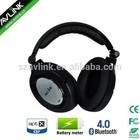 Wireless Bluetooth V4.1 with avtive noise canceling headphone with alu badge logo/APTX