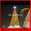 2014 cool white top étoiles grand artificielle décorative arbre