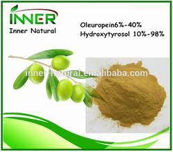Olive Leaf Extract, Oleuropein6%-40%,Hydroxytyrosol 10%-98%