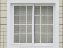 window grill design/PVC sliding window/pvc grill design window