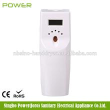 LCD lockable spray air freshener with key lock , automatic aerosol dispenser