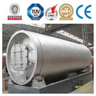 the best selling full automatic large capacity pyrolysis machine tyre to oil with certificates of TUV, ISO,BV,CE