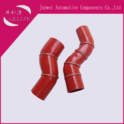 Custom silicone rubber nylon reinforced hose for automobile intercooler or air conditioner