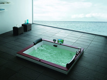 New arrival whirlpool massage bathtubs Y2090852 1850X1500X760
