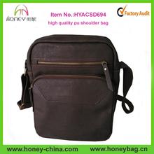 HOT PU Shoulder Bag For Men Fashion Style Mens Leather Messenger Bag