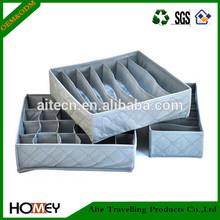 Dongguan Homey Grid Underwear Bra Drawer Closet Organizer Storage Box Case