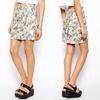 China wholesale clothing oem alibaba fashion floral wrap skirt