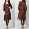 2014 OEM factory ladies kurta designs maxi dress pakistan casual dress
