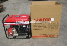 2.5kw electric start luantop ,motorcycle muffler, low noise, honda engine, yamaha big alternator, home use, used generator
