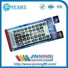 custom ir universal jumbo remote control RC021 made in Anhui