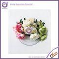 fiore artificiale e tropicali pianta con vaso