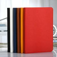 pure color PU stand case for ipad mini,fashion flip case cover for ipad mini