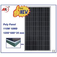 110w poly broken cells solar panel