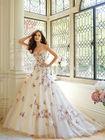 Stylish Pearl appliqued sweetheat not kids wedding gown/islamic wedding dress china supplier