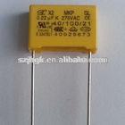 box type metallized polyester film capacitor X2 104j 400V