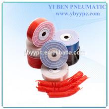 PU Spiral Pneumatic10mm OD 6.5mm ID Tube Hose Air Brake PU Coil Hose Tube