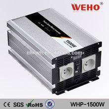 100% test 1500w 48v 110v pure sine wave ups inverter battery charger battery