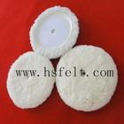 auto buffing 100% natural wool pad