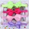 Bow flower hair accessories headwear girls baby headband
