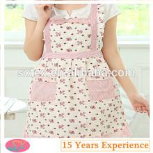 hot fashion printing cotton betty apron