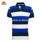 breathable fashion mens polo collar striped t shirt & high quality fabric for polo-shirt / polo shirts wholesale china