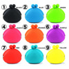 blank coin purse pouch wallet silicone on stock