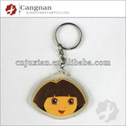 promotion soft pvc motorcycle keychains