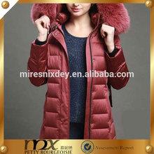 OEM Down Coat w'omen Down Coat women down coat with fur collar