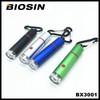 Popular led keychain flashlight/Mini USB rechargeable led flashlight