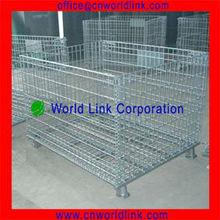 Heavy Duty Folding Storage Mesh Pallet Cage