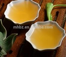 Gold yellow gushu soup puerh teas
