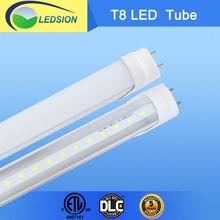 Factory lighting energy saving 18w t8 led red tube xxx with DLC ETL CETL