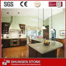 Engineered Materials Kitchen Decoration Quartz Table Top